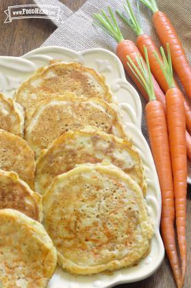 Panqueques de Zanahoria