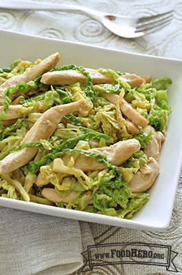 Photo of Chicken Cabbage Stir-Fry