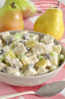 Image of Chicken and Pear Salad