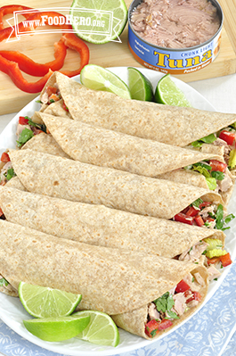 Photo of Cilantro Lime Tuna Wrap