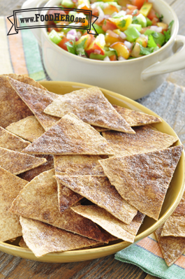 Photo of Baked Cinnamon Tortilla Chips