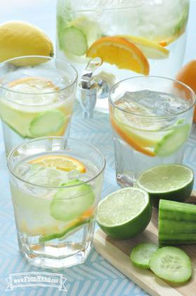 Photo of Citrus Cucumber Water