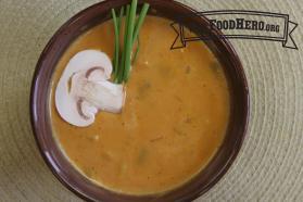 Sopa de Calabaza al Curry