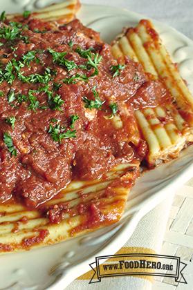 """Foto de Pasta tipo """"Manicotti"""" Fácil de Hacer"""