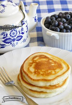 Favorite Pancakes (with Eggs)