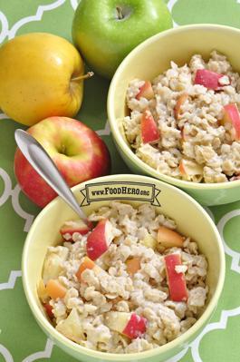 Apple Spice Oatmeal Image