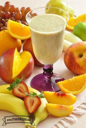 Explosión de Frutas 2 (con yogur y leche)