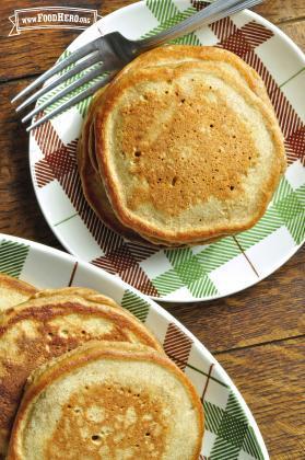 Panqueques de Pan de Jengibre