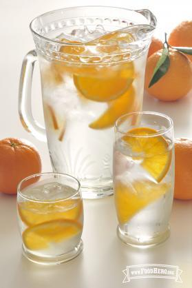 Photo of Glass of Sunshine Flavored Water