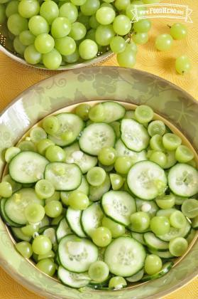 Grape and Cucumber Salad