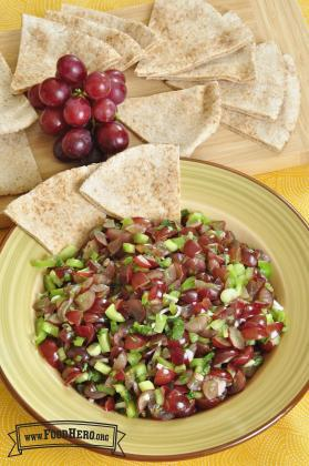 photo of grape salsa