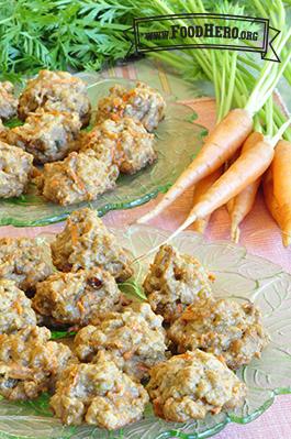 Galletas Saludables de Pastel de Zanahoria