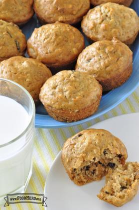 Panecillos (muffins) en la Mañana