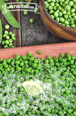 Photo of Parmesan Peas