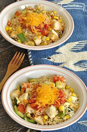 Foto de Tazón de arroz al estilo del suroeste