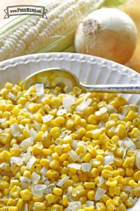 Sautéed Corn and Onion