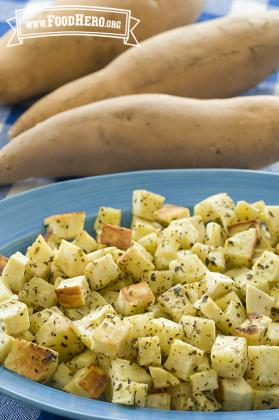 Savory Sweet Potatoes Image