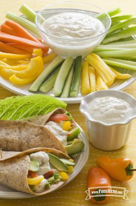 Photo of Savory Yogurt Spread