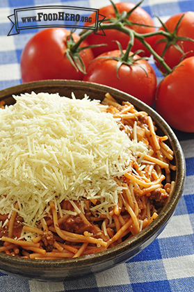 Foto de Una Sartén de Espaguetis