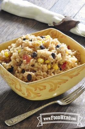 photo of Arroz Integral con Elote y Frijoles