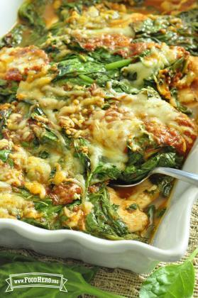 Espinacas & Pollo Italiano