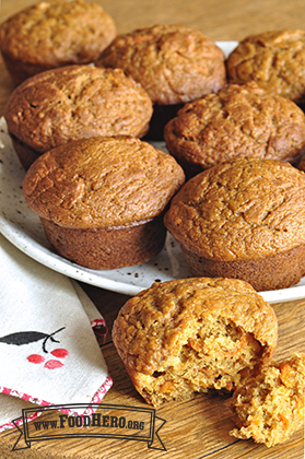 Photo of Sweet Potato and Orange Muffins