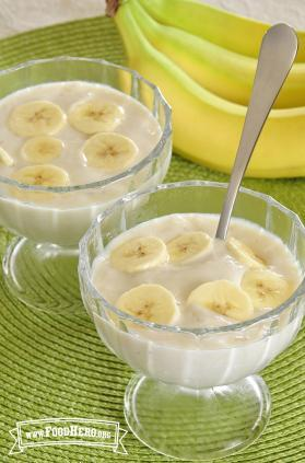 Photo of Tofu Banana Pudding