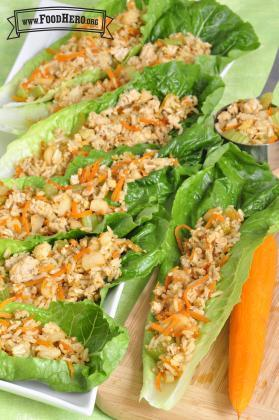 Asian Turkey Lettuce Wrap