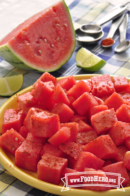 Photo of Watermelon with Lime and Chili Powder