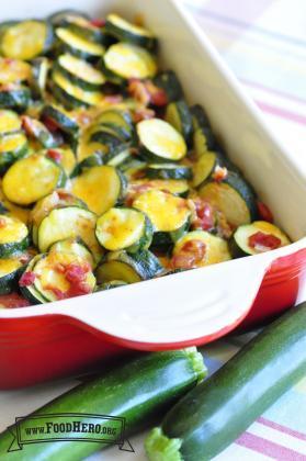 Zucchini Tomato Bake