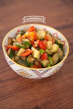 Zucchini Stir-Fry