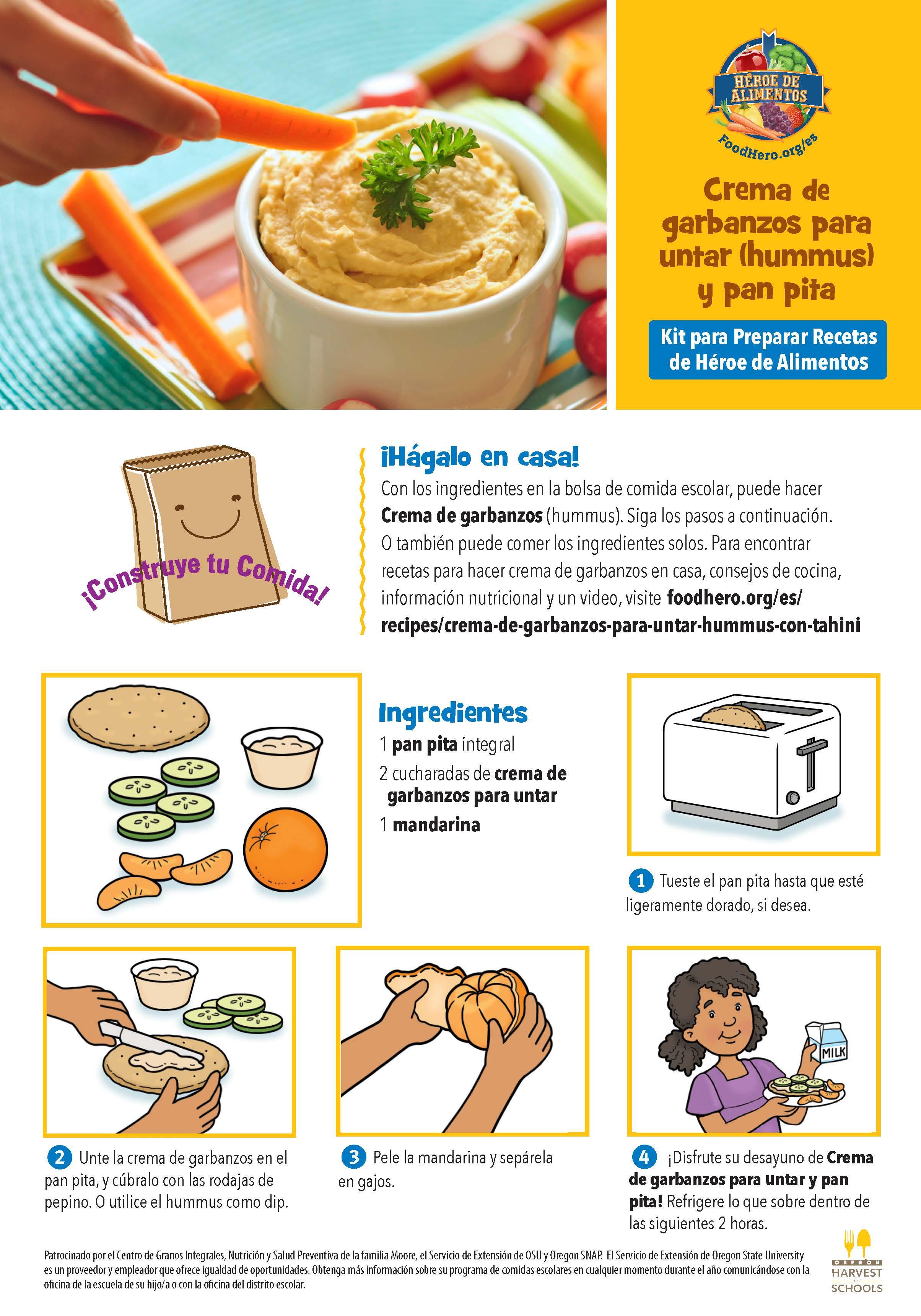 Kit de Recetas de Heroe de Alimentos
