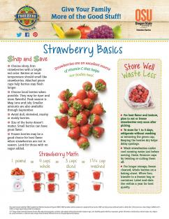 Strawberry Food Hero Monthly Page 1