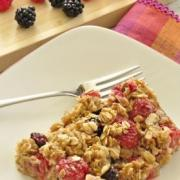 Photo of Baked Berry Oatmeal