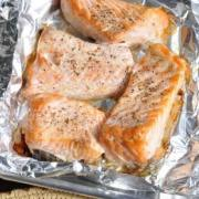 Recipe Image for Oven Baked Salmon