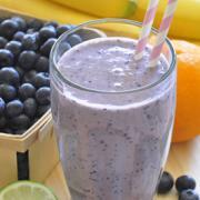 Photo of Blueberry Tofu Smoothie
