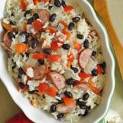 Photo of Rice with Black Beans and Sausage
