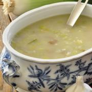 Photo of Creamy Potato Leek Soup