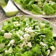 Photo of Green Salad with Peas