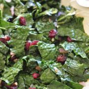 Photo of Kale and Cranberry Stir-fry