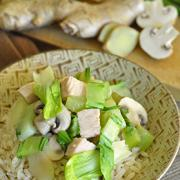 Photo of Vegetables and Turkey Stir-Fry