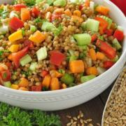 Photo of Wheat Berry Salad