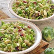 Photo of Brussels Sprouts, Cranberry, and Bulgur Salad