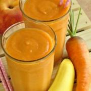 Peach and Carrot Smoothie