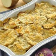 Photo of Potato Turnip Gratin
