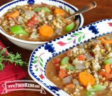 Photo of Barley Lentil Soup