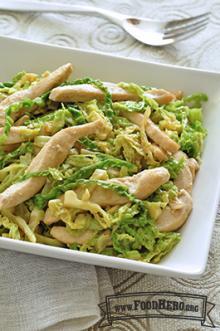 Photo of Chicken Cabbage Stir-Fry