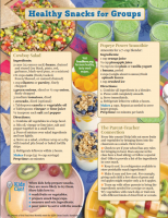 healthy snacks for groups