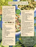Broccoli Food Hero Monthly