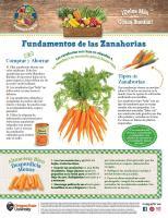 Comprar y Ahorrar - Zanahorias